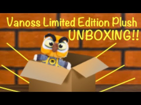 Vanoss Limited Edition Plush Unboxing - YouTube