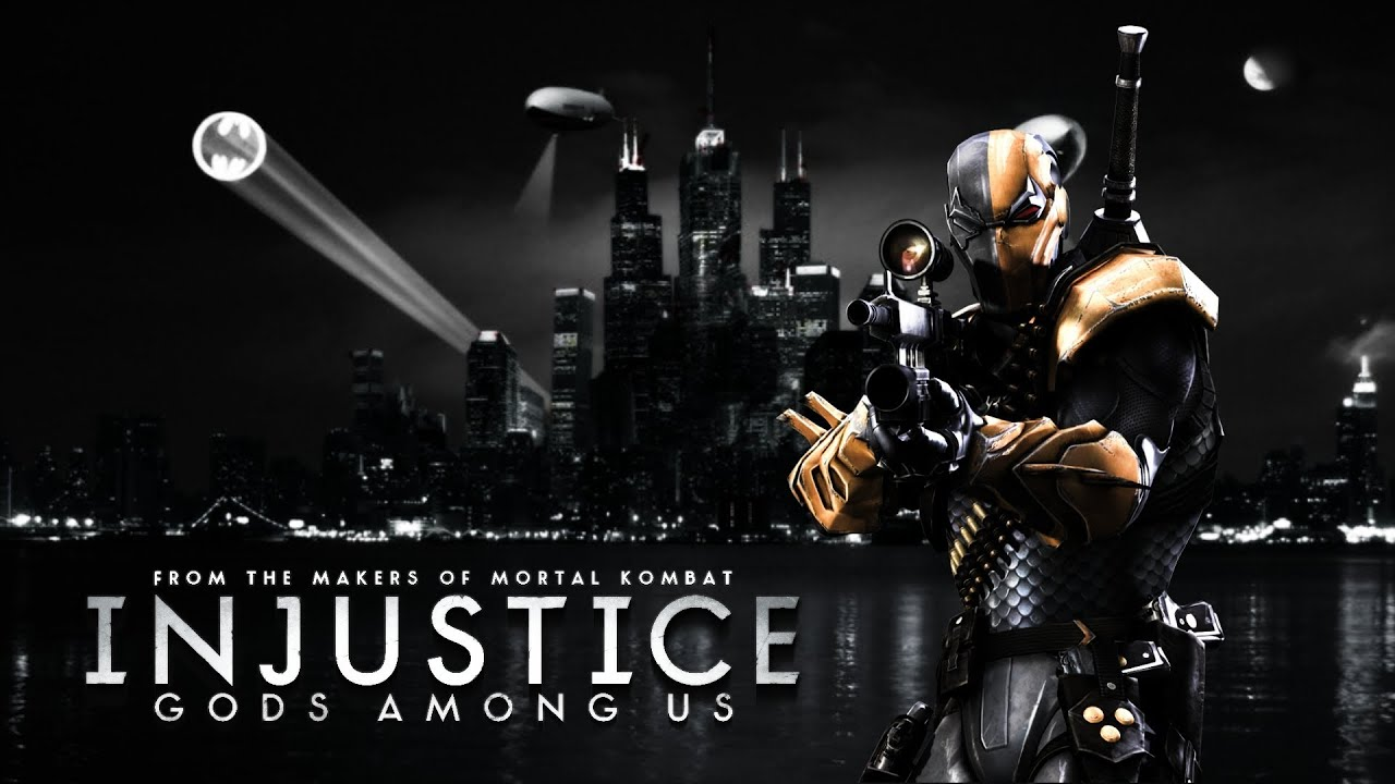 Deadpool Logo Wallpaper Hd Injustice Gods Among Us Deathstroke Classic Battles Mode