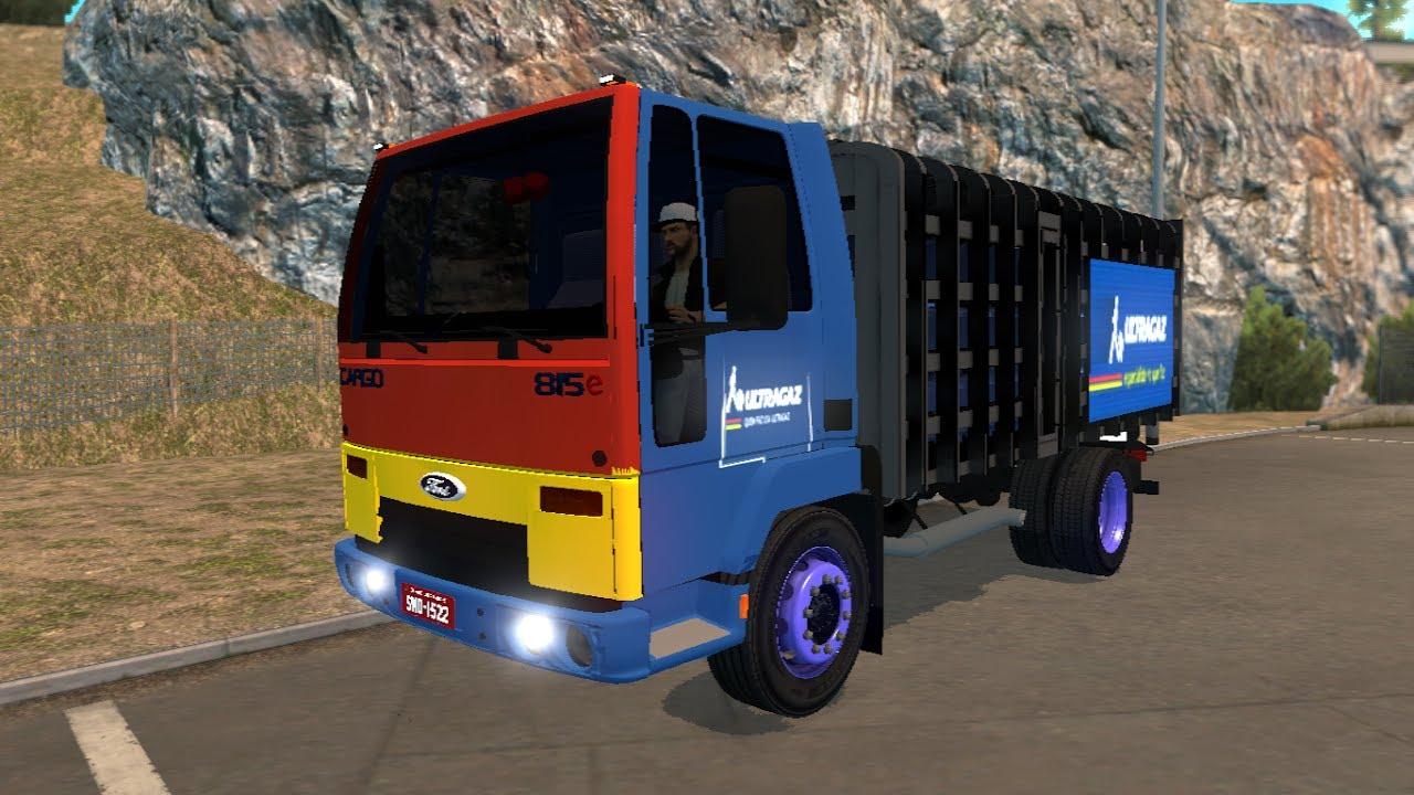 Euro Truck Simulator 2 Mods Ford Cargo 815 1 27 Youtube