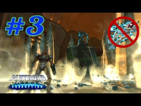 Metroid Prime 3: Corruption No Hypermode Challenge: Part 3 (Planet Bryyo and Rundas)
