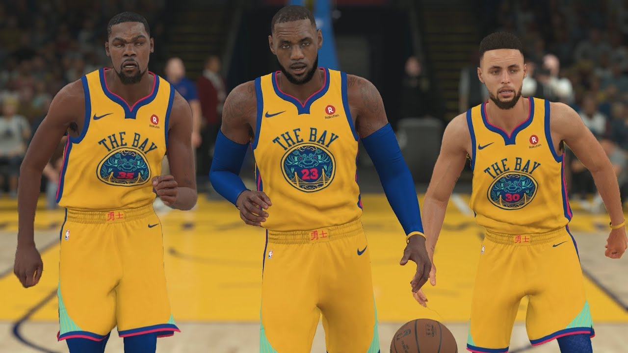 the best attitude 55964 9017d Lebron James On The Golden State Warriors! NBA 2K18 Gameplay!