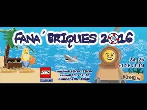 Expo Fana'briques 2016:comme si vous y etiez!