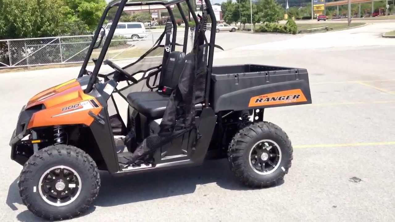 2013 polaris ranger 800 efi midsize le in nuclear sunset orange at tommy s motorsports youtube