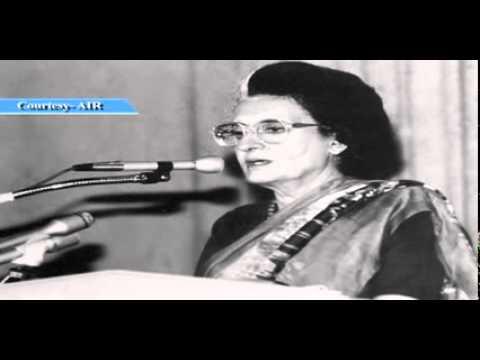 Indira Gandhi Speech During Emergency 1976 RARE