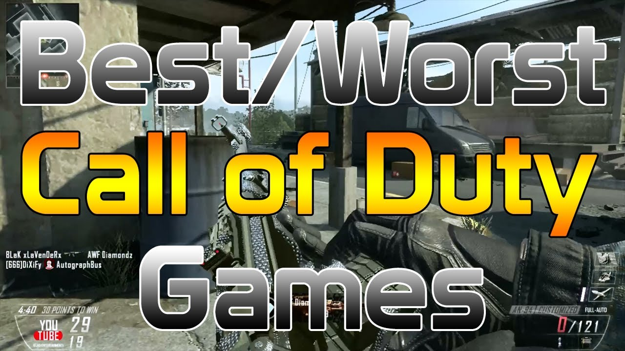 All 16 Call of Duty Games Ranked From Worst To Best