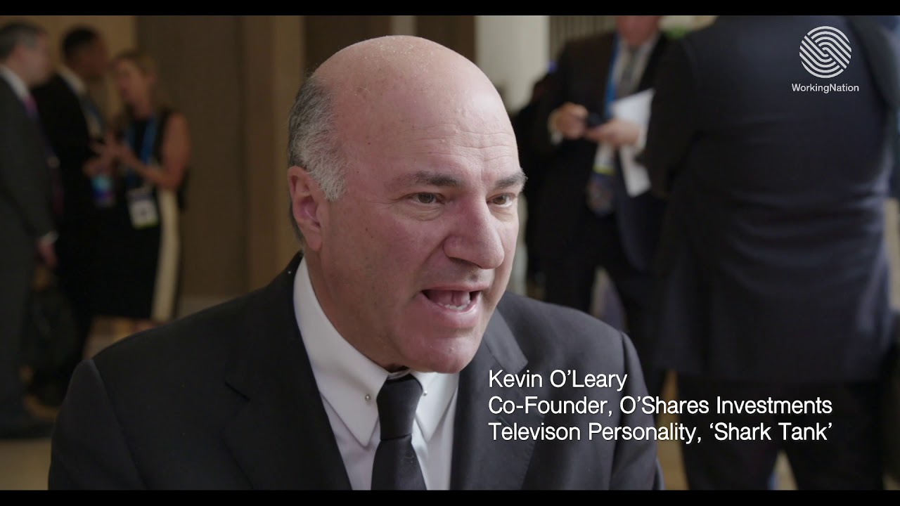 WorkingNation Overheard: Kevin O'Leary at Milken Global Conference 2019 | WorkingNation