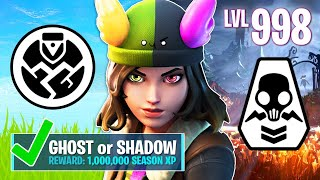 New GHOST & SHADOW SKYE Challenges! (Fortnite Battle Royale)