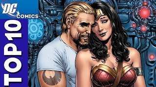 Top 10 Steve Trevor and Wonder Woman Moments