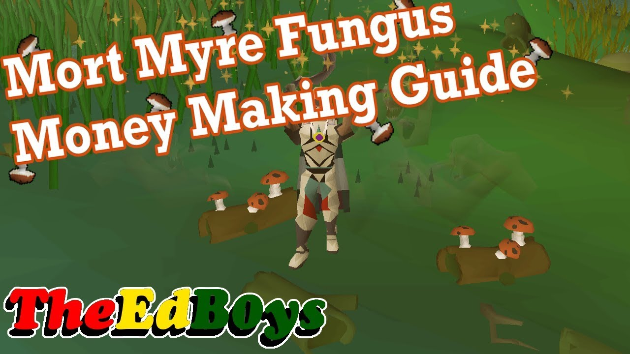 Runescape 2007 Mort Myre Fungus | OSRS Money Making Guide 1m/hr