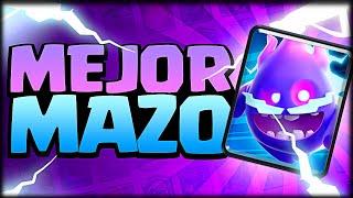 EL MEJOR MAZO CON LA NUEVA CARTA *ESPIRITU ELECTRICO* en Clash Royale - WithZack