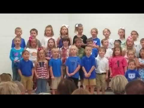 Skylar' s 1st audition at Trion Elementary School(3)