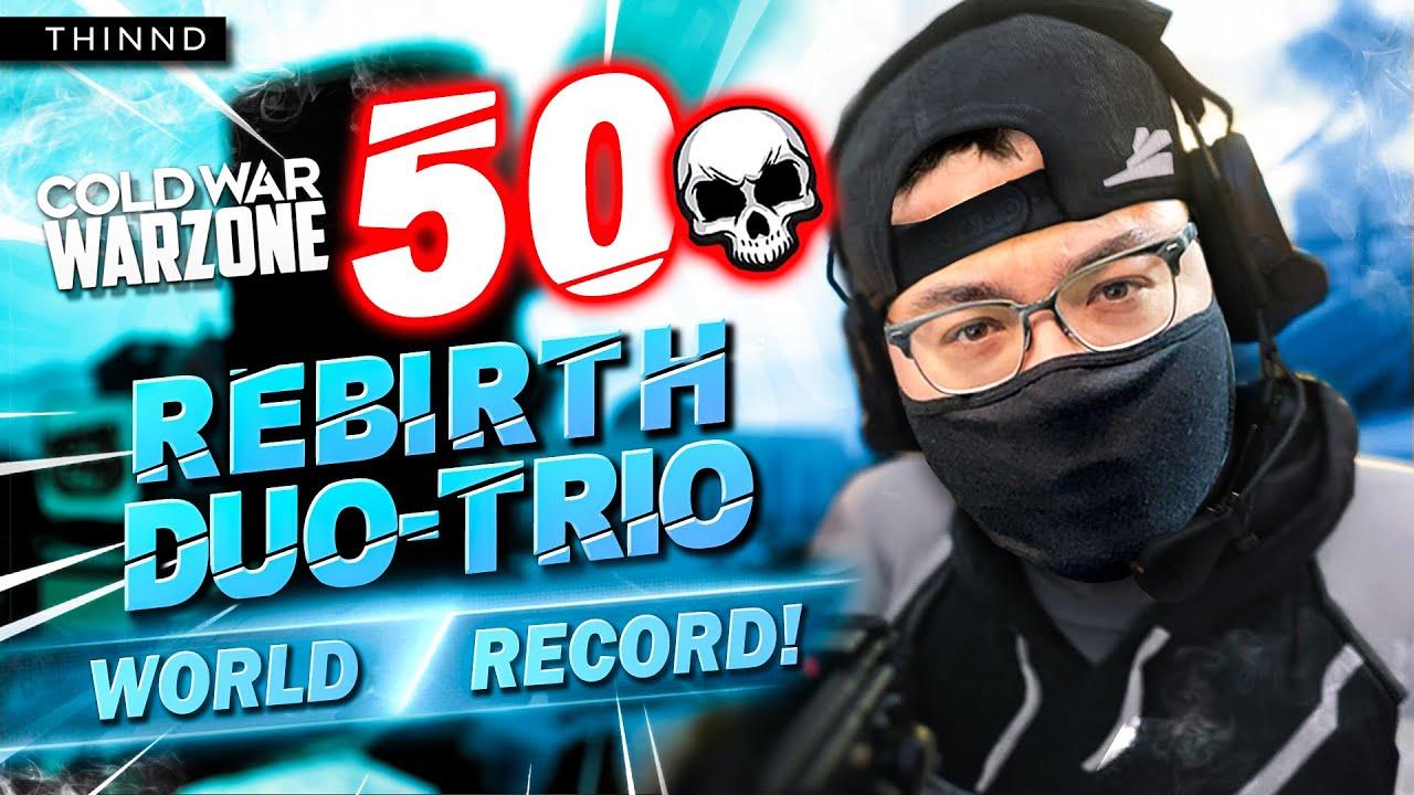 Download THINND: WORLD RECORD 50 KILLS DUO TRIOS REBIRTH ISLAND! (45 in trios lobby) Cold War Warzone