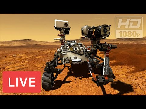 WATCH LIVE: NASA's Perseverance Rover lands on Mars - Mars Landing Live!