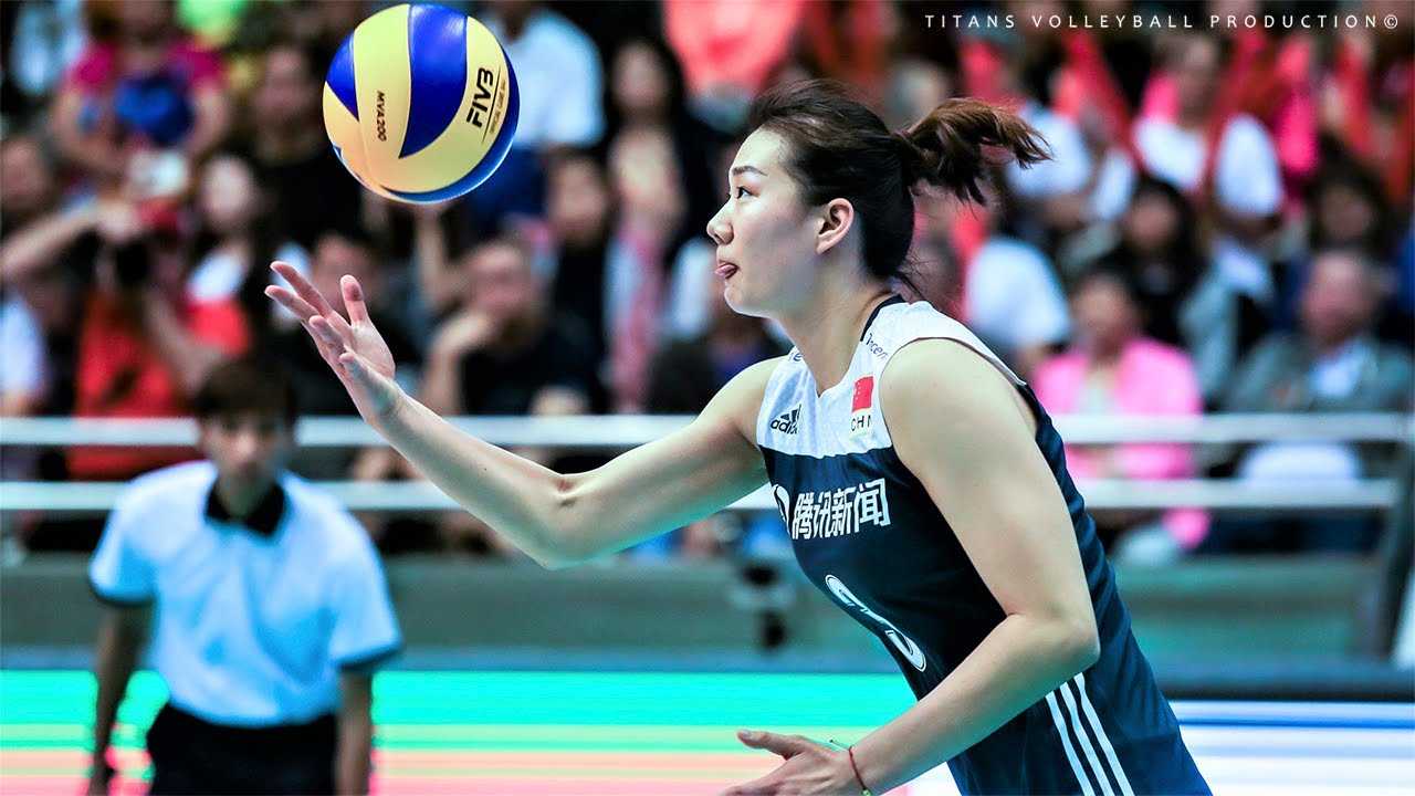 Fangxu Yang (杨方旭) - Crazy Volleyball Actions | Women's VNL 2018