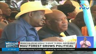 ODM MPs defend Raila on alleges of involvement in the Mau eviction