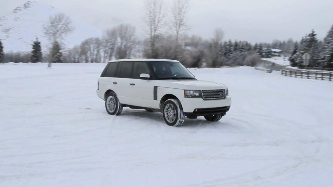 2010 Range Rover Snow Drifting Bulls & Beavers