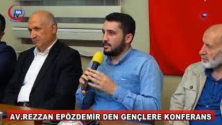 DR.REZZAN EPÖZDEMİR DEN SİİRT VAKFINDA GENÇLERE KONFERANS