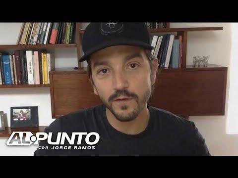 Diego Luna se solidariza con las víctimas en México y dice cómo ayudarlas