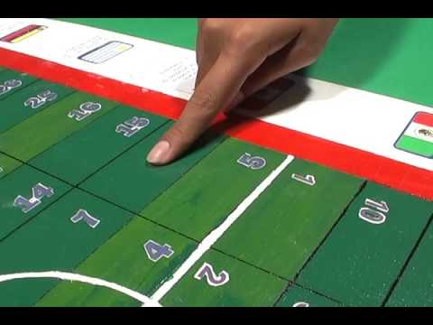 Juego De Meza Futbol Matematico Youtube