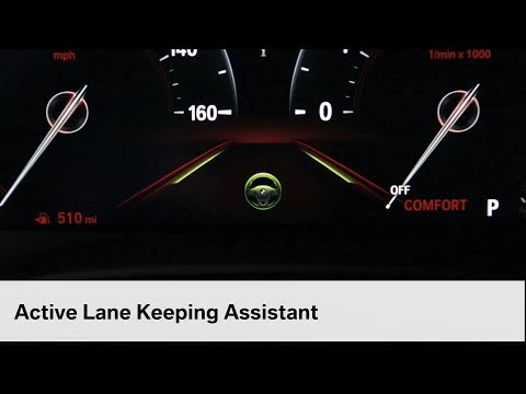Active Lane Keeping And Traffic Jam Assistant | BMW Genius How-To