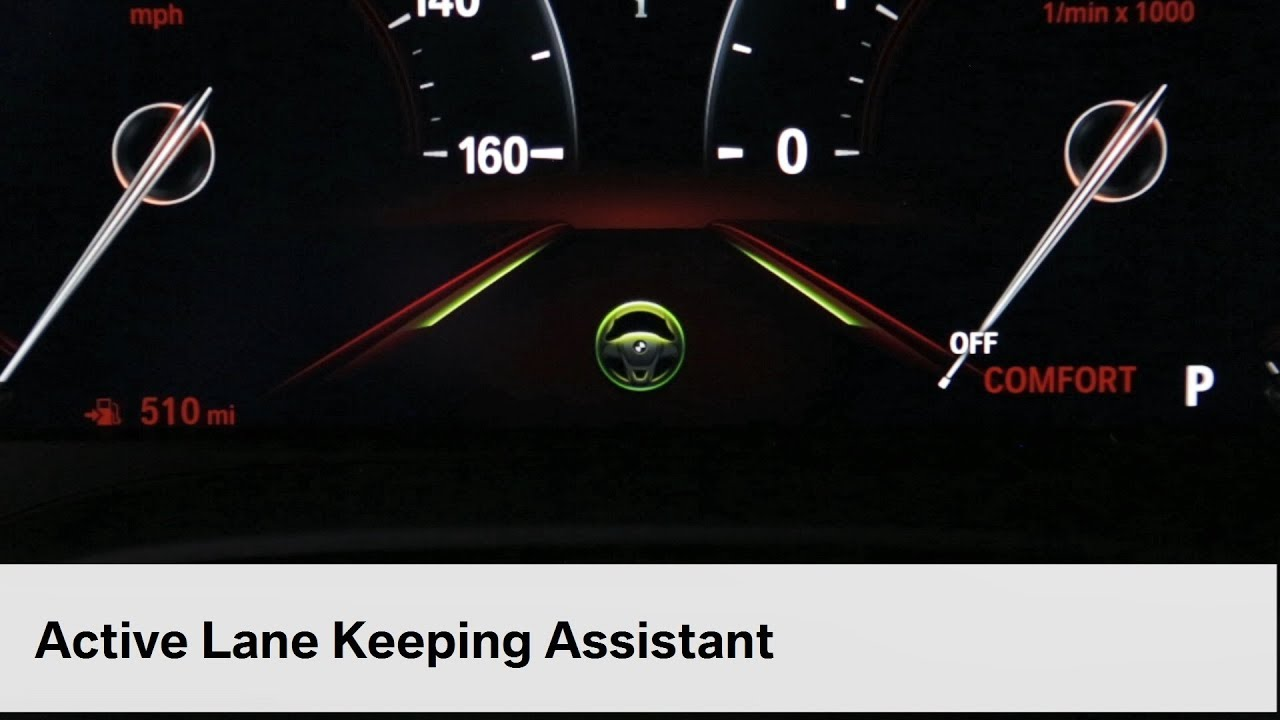 Active Lane Keeping And Traffic Jam Assistant Bmw Genius How To Youtube