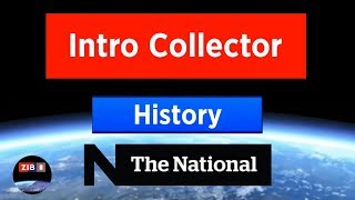 History of CBC The National-intros