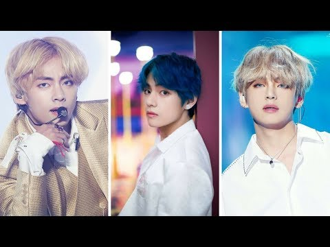The Hair Evolution Of BTS V | BTS Taehyung`s Hairstyles in Every ERA