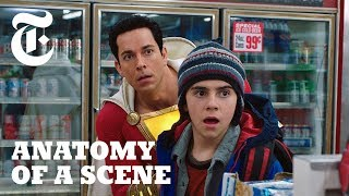 Watch Zachary Levi Discover Superpowers in 'Shazam!'  | Anatomy of a Scene
