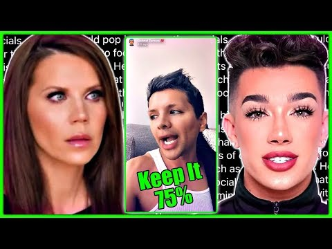 Gabriel Zamora DRAMA With James Charles & Tati Westbrook thumbnail