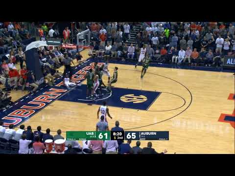 Auburn Mens Basketball Highlights vs UAB