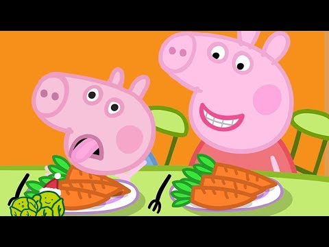 Peppa Pig Full Episodes | Vegetables For George 🎄Peppa Pig Christmas