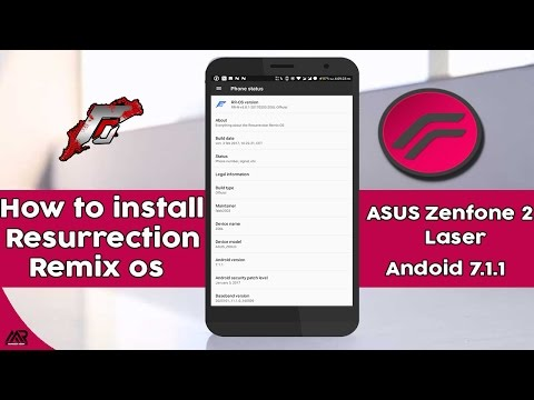 Resurrection Remix Rom(Android 7.1) for Asus Zenfone 2 Laser(official) || Volte enabled