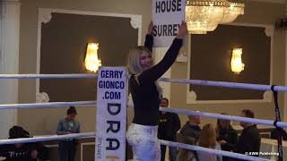 Ring Girl Practice Round With Sage Wolfe