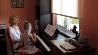 Prep. class. Open lesson. Teacher Anna Uluc. Открытый урок по фортепиано.