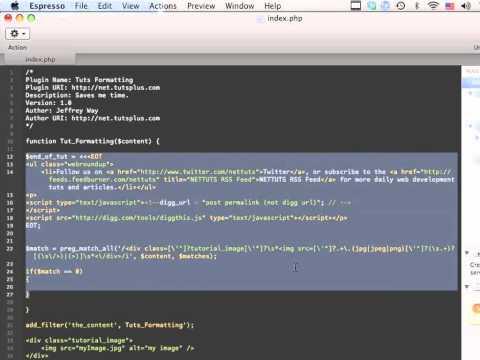 A Crash-Course in WordPress Plugin Development