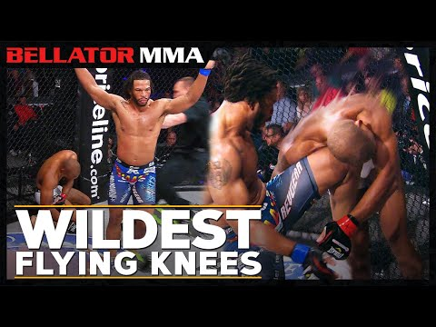 Wildest Flying Knees  | Bellator MMA Flying