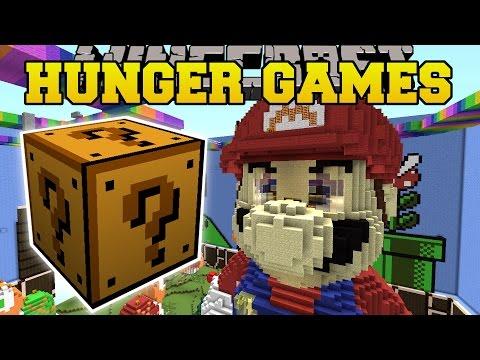Minecraft: SUPER MARIO HUNGER GAMES - Lucky Block Mod - Modded Mini-Game