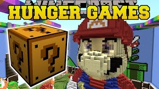 Minecraft: SUPER MARIO HUNGER GAMES - Lucky Block Mod - Modded Mini-Game