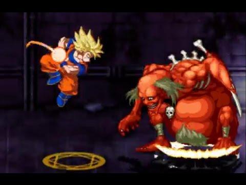Crazy Zombie 9 - Goku fighting Echochrome Mode - Part 8