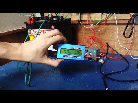 How to wire a solar watt meter