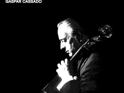Gaspar Cassadó - Integral Per Violoncel i Piano - Lamento De Boabdil