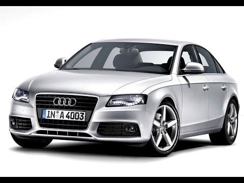 Замена лобового стекла на Audi A4 в Казани