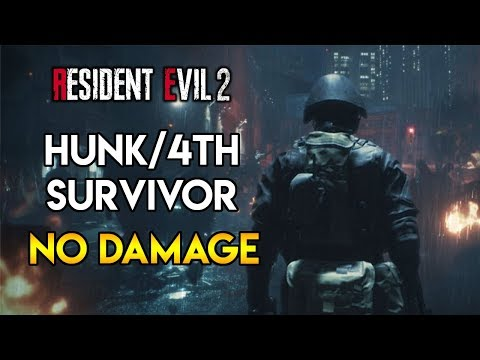 Resident Evil 2 Remake - Hunk/4th Survivor - No Damage Run