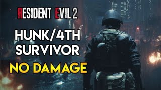 Resident Evil 2 Remake - Hunk/4th Survivor - No Damage Run