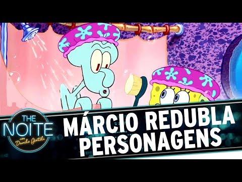 Márcio Seixas redubla personagens famosos | The Noite (13/07/17)