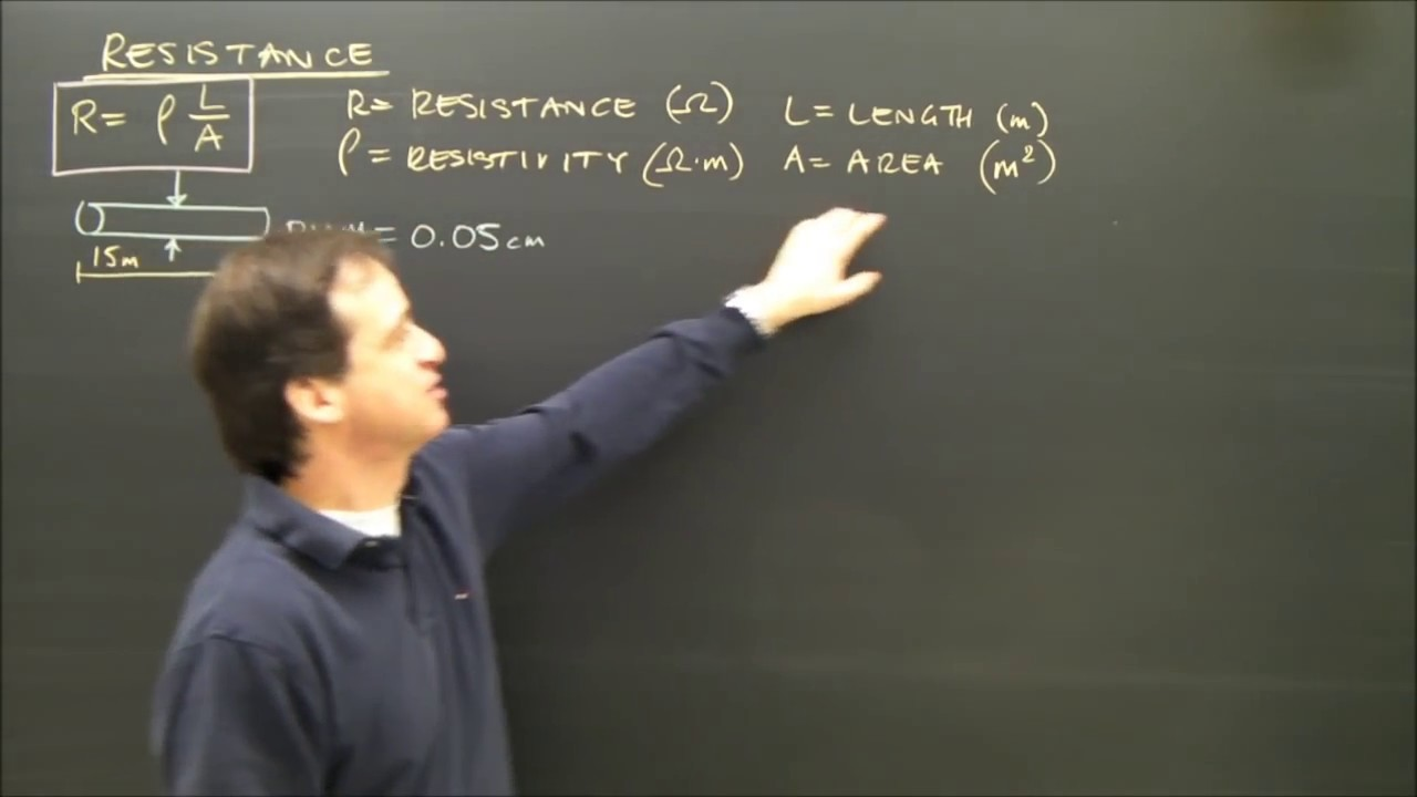 Simple Electricity Calculations Resistance Formula Part 7 - YouTube