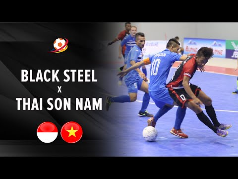 Highlight: Black Steel Indonesia vs Thai Son Nam (2-7) : AFF Futsal Club 2016