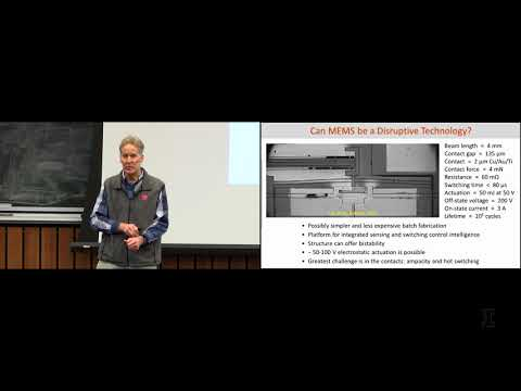 MEMS and NEMS switches for power and logic - Jeffrey H. Lang, MIT