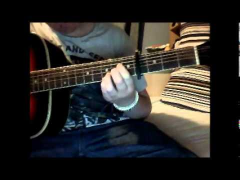 Staind So Far Away Super Easy Chord Version For Begginers Youtube