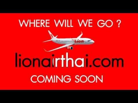 เตรียมพบกับเส้นทางใหม่ สู่ต่างประเทศ โดย สายการบิน ไทย ไลอ้อน แอร์